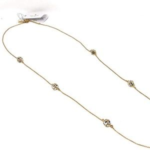 Kate Spade  Lady Marmalade Clear Crystal Necklace